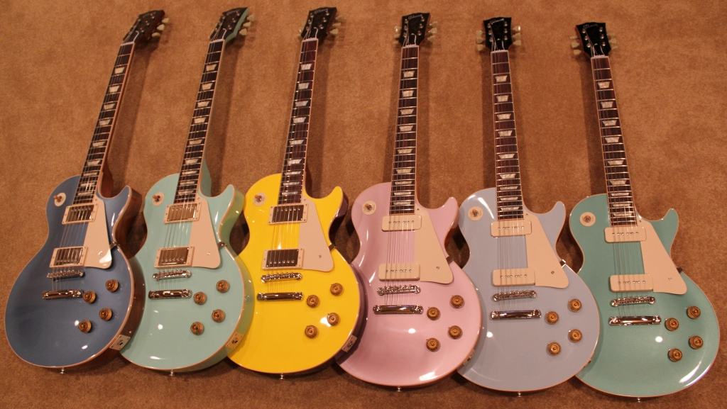 Mansfield Guitar Tuition Gallery Check Out these Stunning Gibson Les Pauls